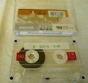 Referenztape für Cassettendecks No 1
