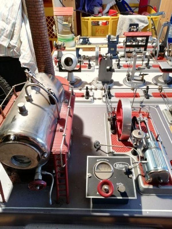 Dampfmaschine wilesco