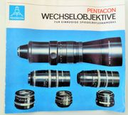 Tele-Objektiv 4 200 von PENTACON-Dresden -