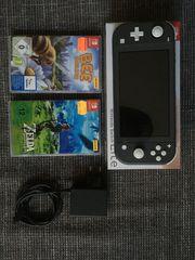 Nintendo Switch Lite 4 Spiele