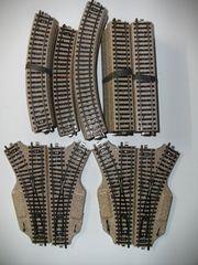 13 Märklin H0 M-Gleis Gleisanlage