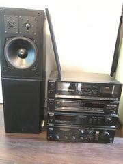 Sony Stereoanlage inkl Lautsprecher
