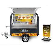 Imbisswagen Grillwagen Imbiss Verkaufsanhänger Foodtruck