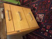 Schreibtisch Buche Hell Stahlgestell