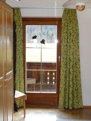 Vorhang für Balkontüre