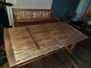 Holztisch für Terrasse Balkon