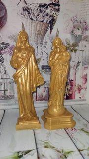 Wachs Figuren Kerzen Jesus Heilige