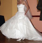 Brautkleid Hochzeitskleid Gr 38 Corsage