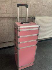 Aluminium-Trolley mit Gel-Nägel Ausstattung