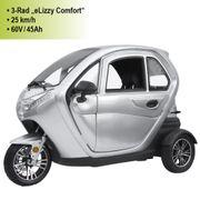3-Rad E-Kabinenfahrzeug eLizzy Comfort 25