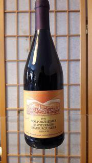 Rotwein Walporzheimer Klosterberg 2002 Spätburgunder