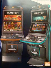 Automatenaufsteller Geldspielautomaten Merkur Crown Loewen