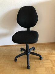 Bürostuhl höhenverstellbar schwarz