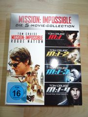Mission Impossible Box MI 1-5