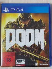 Doom 2016 PS4 de en