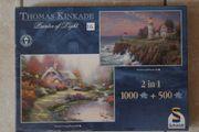 Puzzle 1000-2000Teilig 3 Stück neuwertig