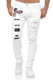 Herren Jeans Hose Slim Fit