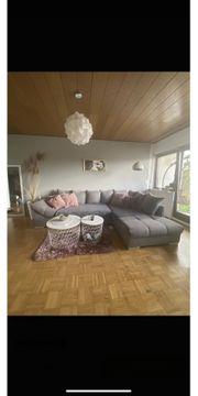 Wunderschöne Couch grau Abholung bis