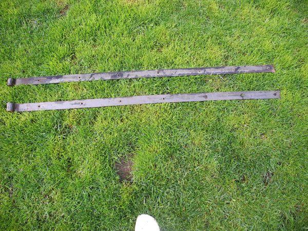 2 Metallbeschläge Torband Torbeschlag1 50