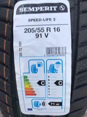 4xSommerreifen Semperit 205 55R16 91V