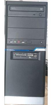 Büro-PC im Minitower 4x 3