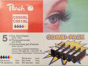 9 x Druckerpatronen Farbe für