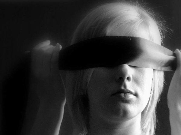 ein echtes Blind-Date