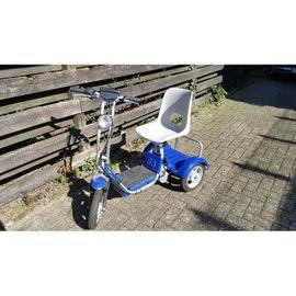 6punto8 Elektroroller Dreirtad - Golfcaddy/GolfScooter - Seltenheit, weil nicht mehr gebaut