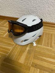 Giro Skihelm mit Uvex Skibrille