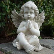 Sitzender Grabengel Grabschmuck Figur Engel