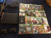 Xbox 360 mit 2 Controller