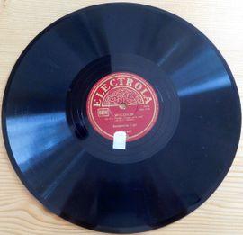 CDs, DVDs, Videos, LPs - alte Schellackplatte - Rarität