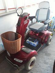 Polsterbett Scooter und Rollator
