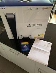 PS5 mit Laufwerk und Garantie
