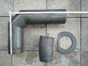 Kaminofen Anschluss-Set 150 mm Winkel