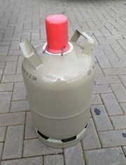 Gasflasche grau Eigentum 11kg gefüllt