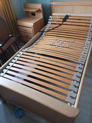 Bett Buche elektrisch verstellbar 2mx1m