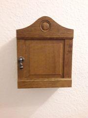 Kleine Garderobe aus Eichen- Holz