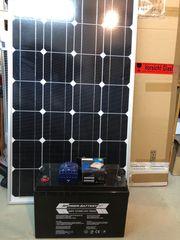Solarmodul 12V 100W Akku 12V