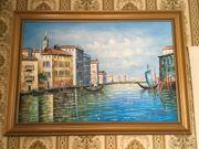 Ölbild Venedig