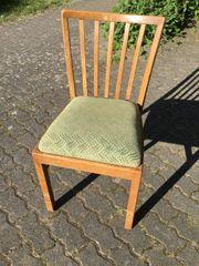 Verkaufe Stuhl 50er oder 60er
