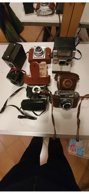 Kleine Kamerasammlung für Sammler