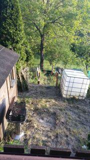 Gartengrundstück mit Wochenendhaus zu vermieten