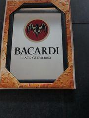 Bacardi Werbespiegel noch original verpackt