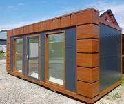 Bürocontainer Wohncontainer Gartenhaus Büro 6x2