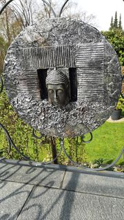 Wand Buddha Dekoration Handarbeit Unikate