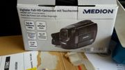 Digitaler Full hd camcorder mit