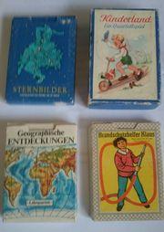 Konvolut DDR Lehrspiele
