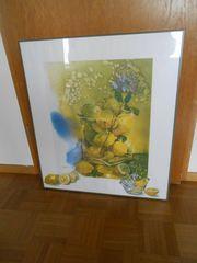 Verschenke Gemälde - Zitrone -