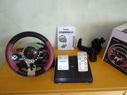 Hama Racing Wheel Lenkrad Thunder